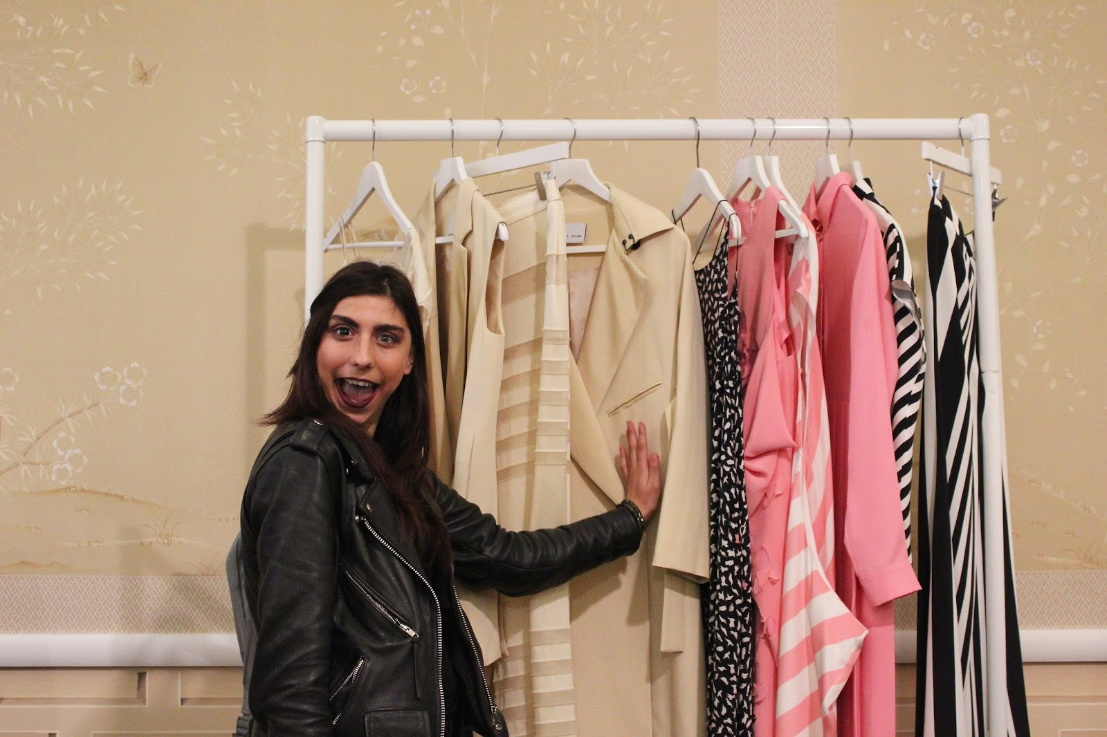 georgie minter-brown, actress, blogger, press day, ss16, spring, summer, 2016, fashion, modus publicity, j. js lee