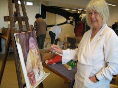 Målning med Palettkullorna Ludvika