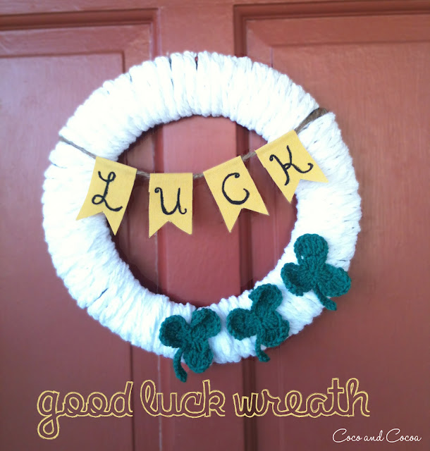 Good Luck Wreath
