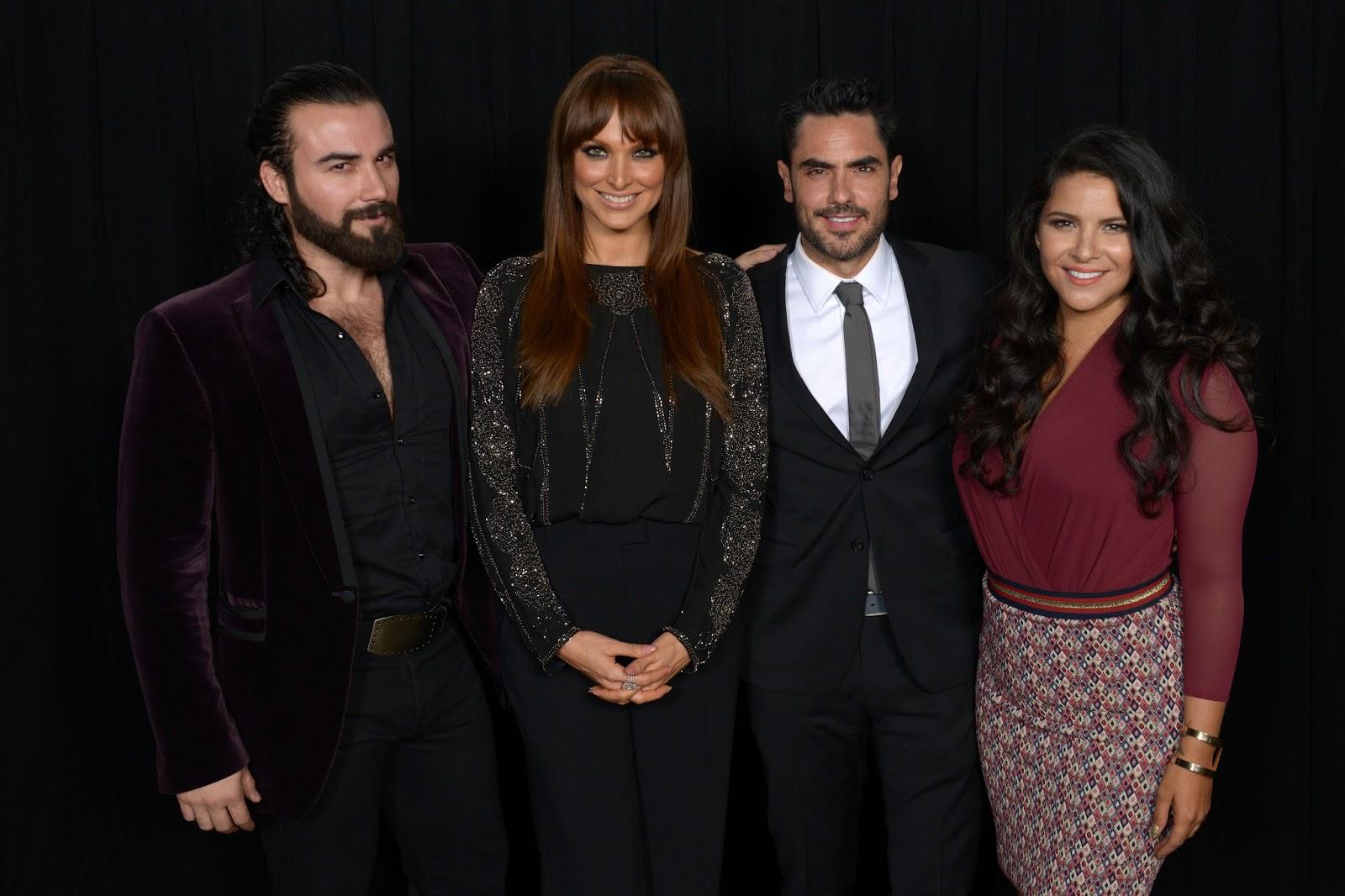 """Elenco de """"Señora Acero 2"""" se reúne para disfrutar del ...  Blanca Soto Y Su Primer Esposo"""