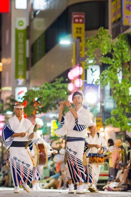 三鷹阿波踊り 国分寺連の鳴り物