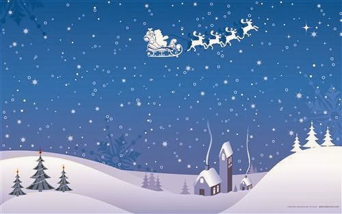 Free Christmas Desktop Wallpaper For Widescreen