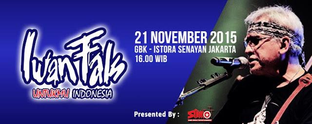 Konser Eksklusif Iwan Fals Untukmu Indonesia