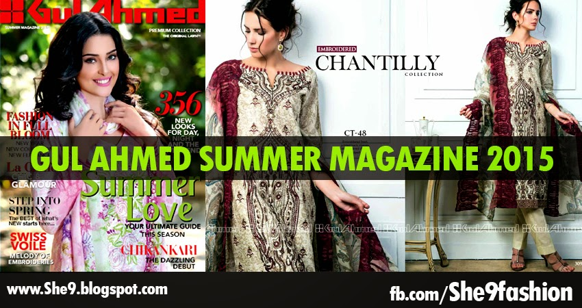 Inside Story of Gul Ahmed Summer Magazine 2015-2016