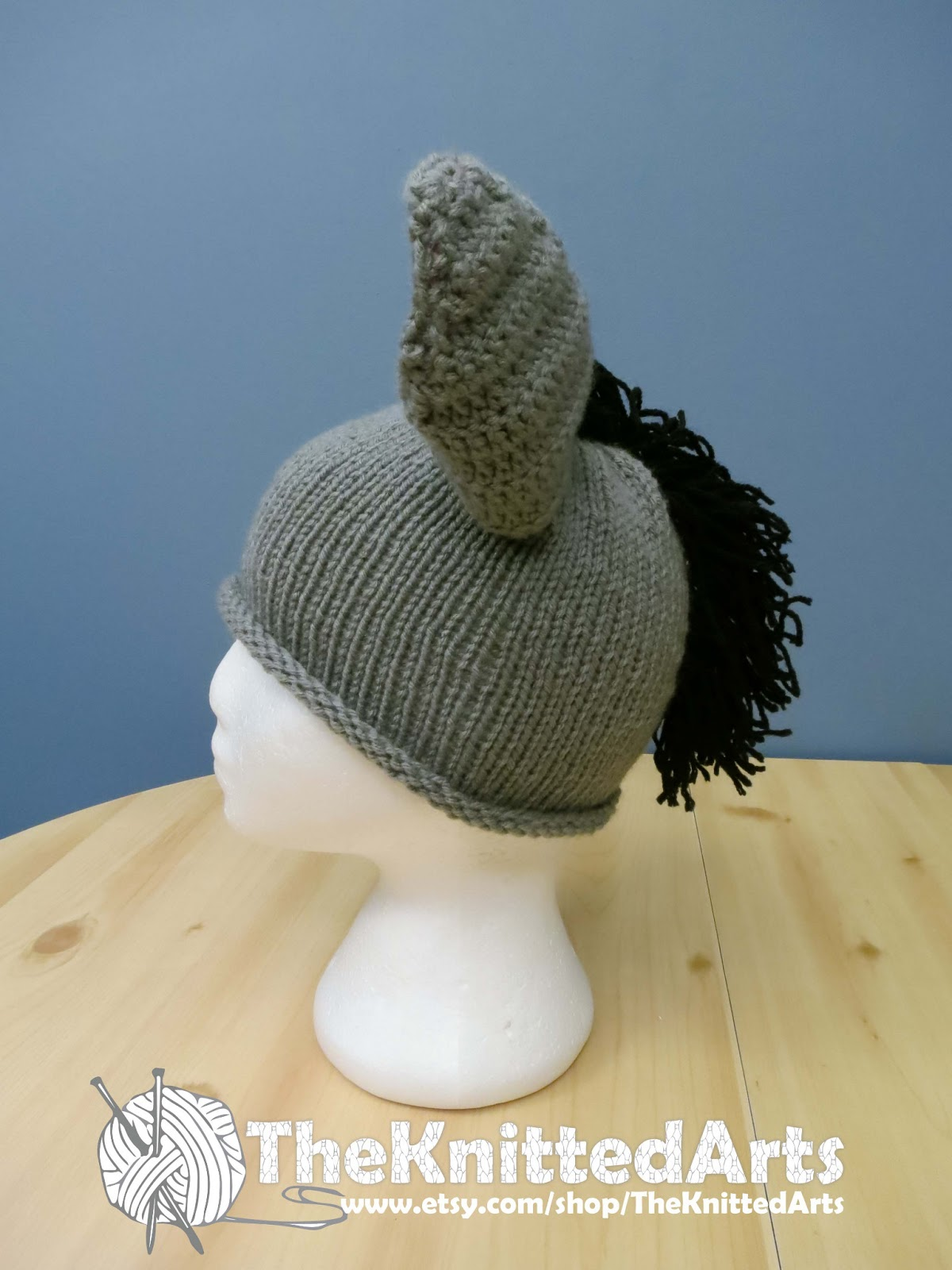 Knitting Pattern For Donkey Hat : TheKnittedArts
