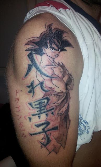 Tatuaje de Son Goku ( Dragon Ball )