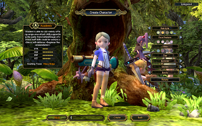 Dragon Nest - Character Creation