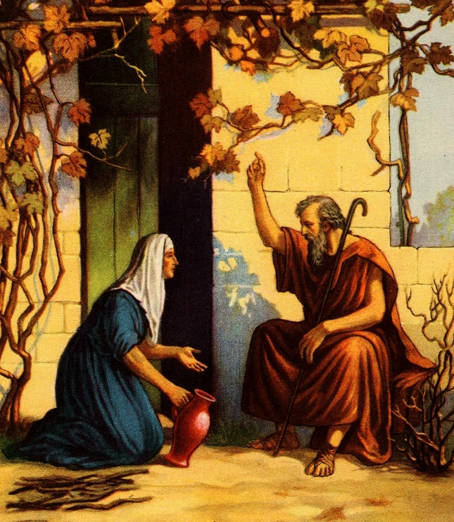 Elijah and the Widow of Zarephath