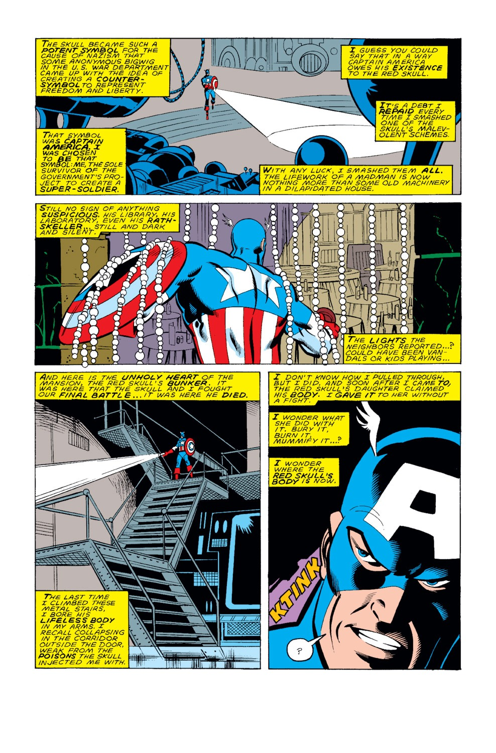 Captain America (1968) Issue #326 #255 - English 4