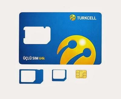 Turkcell yeni 3'lü SİM kartını tanıttı!