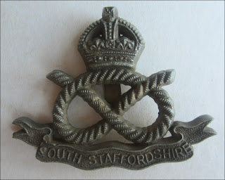 The South Staffordshire Plastic Economy Cap Badge