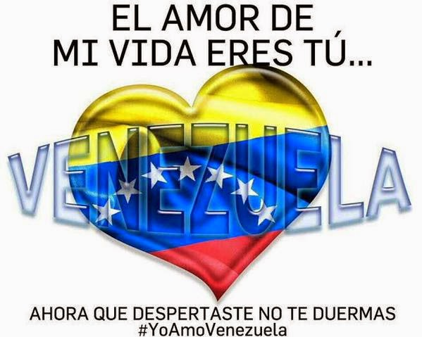 Amo a mi Venezuela hermosa!