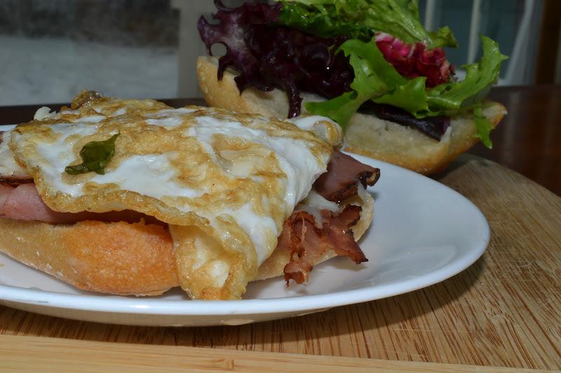 ham cheese and fried egg cheese and ham panini with flank steak panini ...