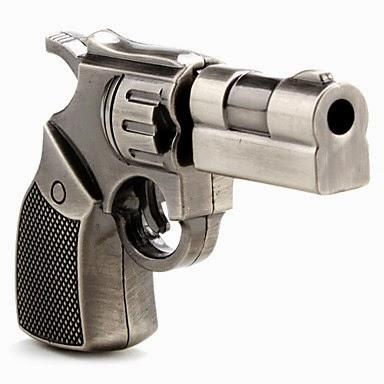 Memoria USB Pistola Revolver