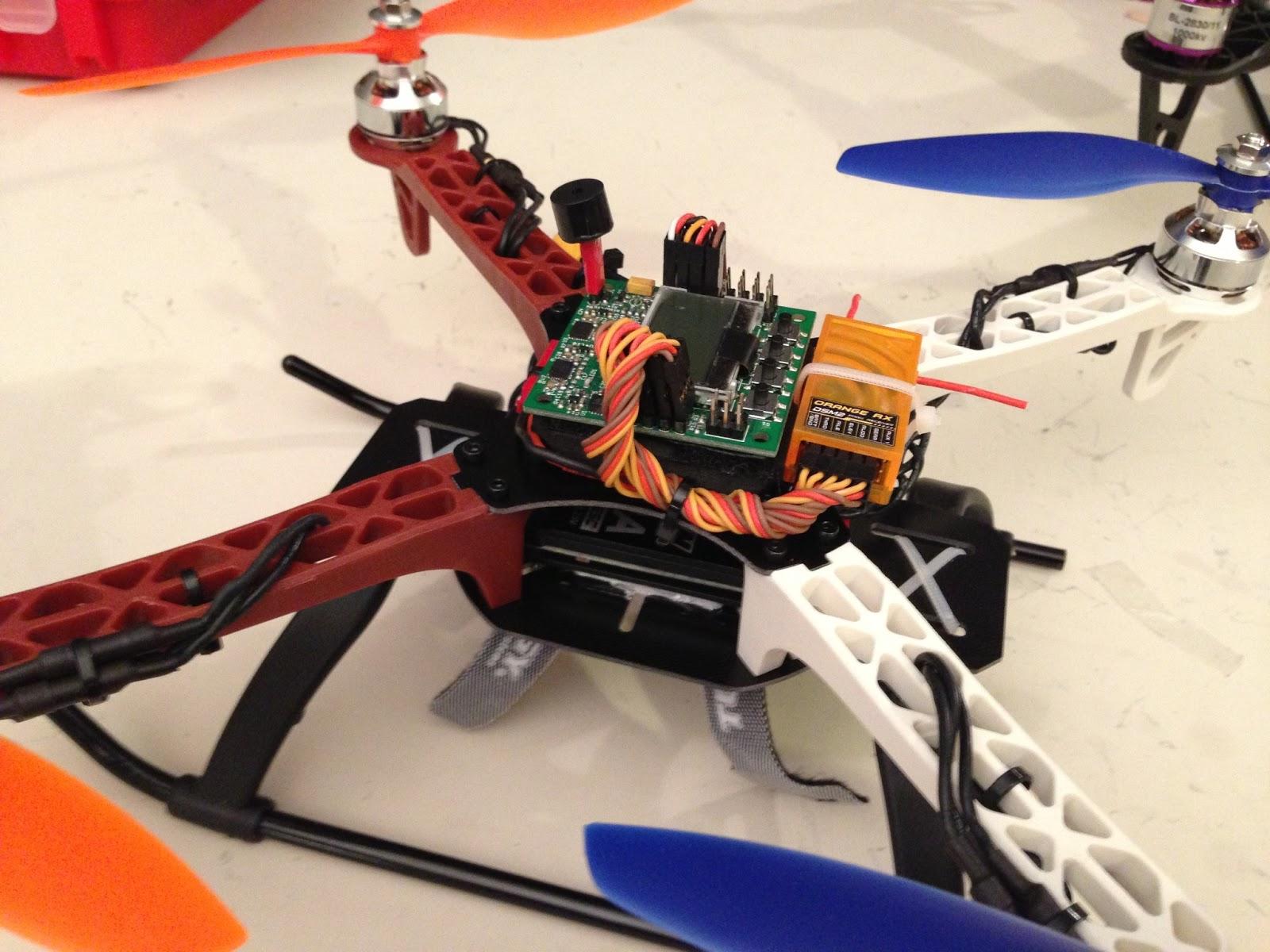 Bluefish  Hk 330 Frame Quadcopter   Plan E