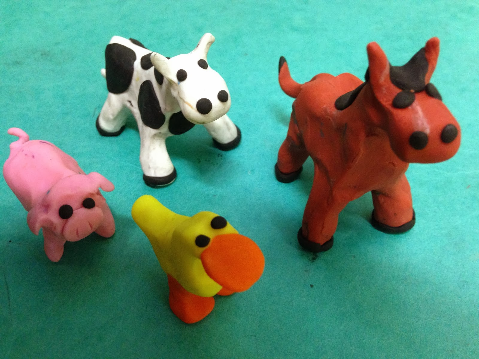 easy clay animals - photo #39