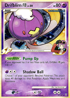 Drifblim FB Pokemon Card Supreme Victors set
