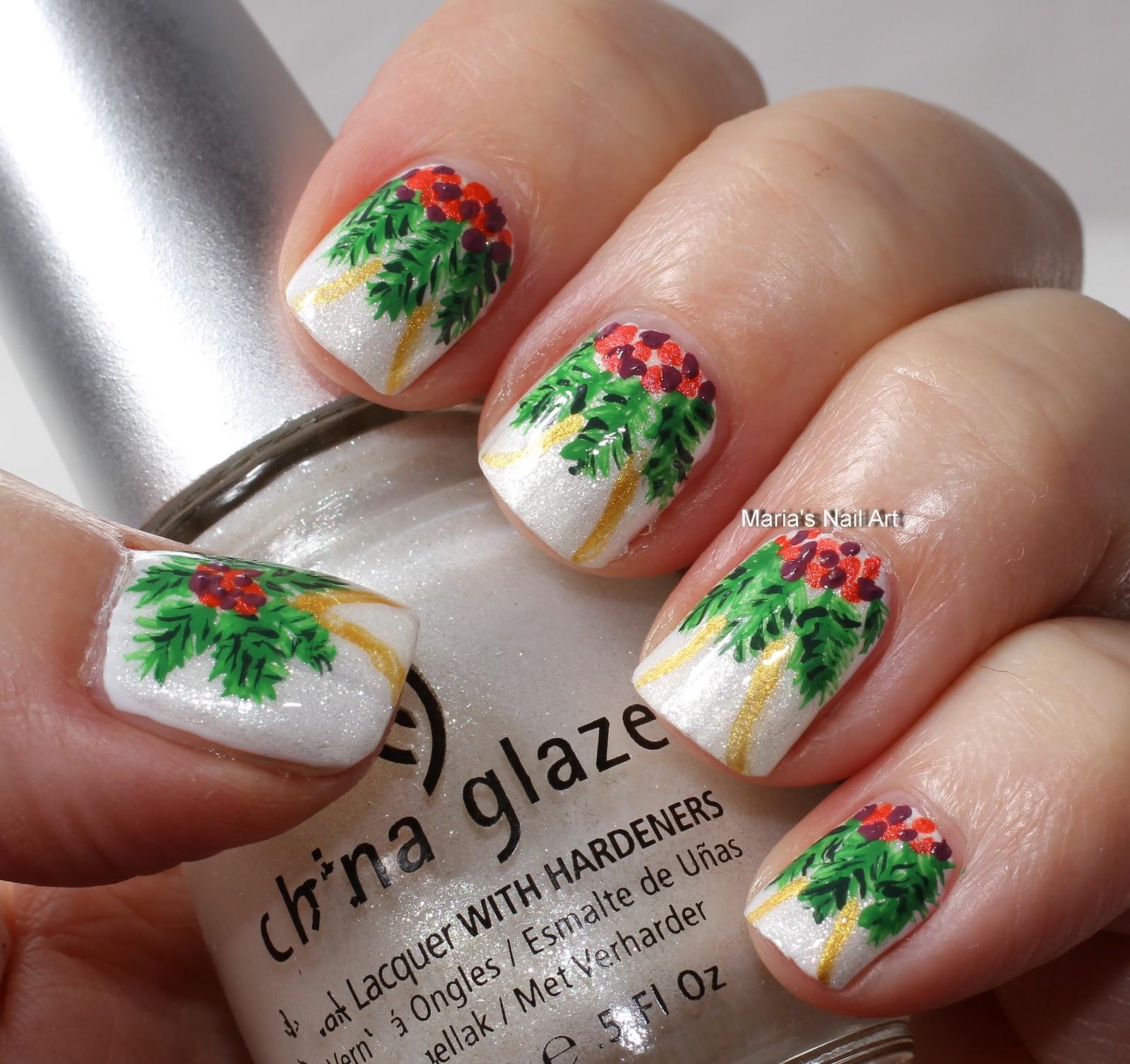 Marias Nail Art and Polish Blog: Christmas decorations