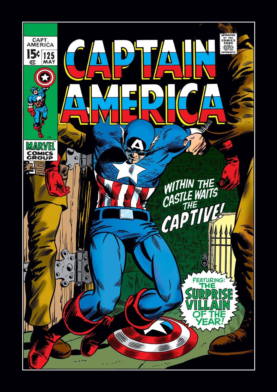 Captain America (1968) Issue #125 #39 - English 1