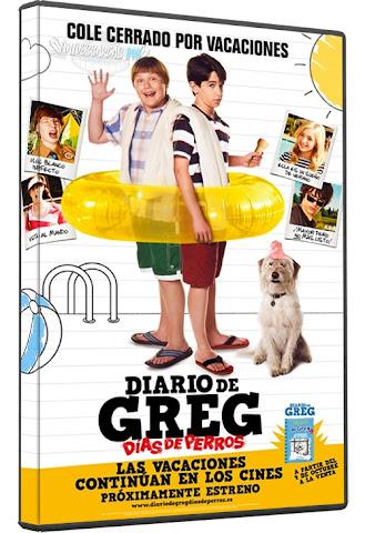 Descargar Diario de Greg 3 Días de perros DVDRip Español Latino 2012