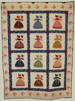 Southern Belle Sunbonnet Sue Quilt Pattern 54 x 72