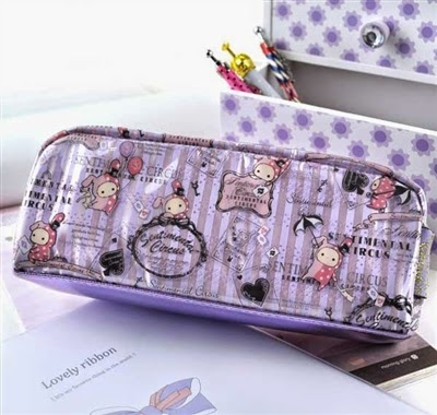 luxe pencil case series at CoolPencilCase.com