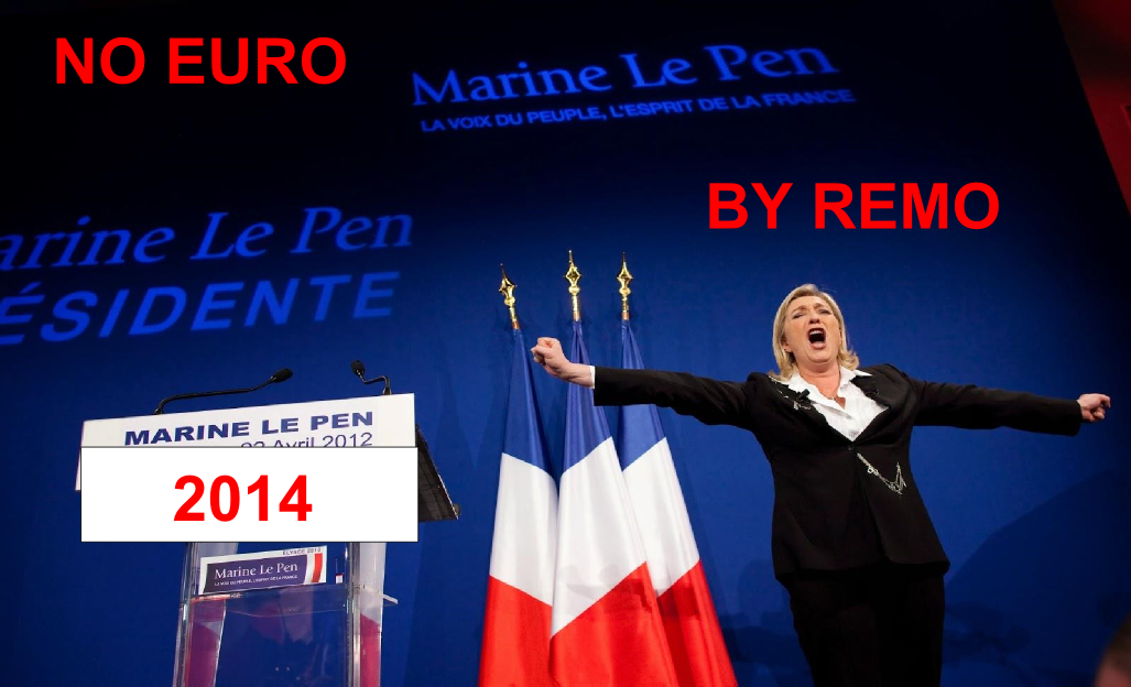 NO EURO - YES MARINE LE PEN