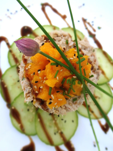 Scrumpdillyicious: Crab & Avocado Salad with Mango and Ginger