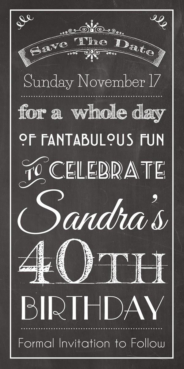 Save The Date Birthday Invitations correctly perfect ideas for your invitation layout