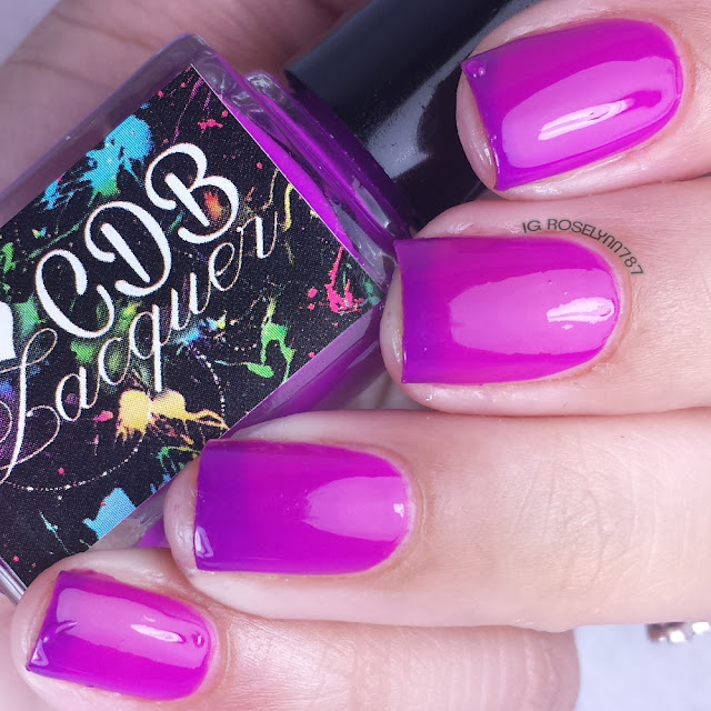 Playful Purple from CDB Lacquer