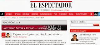 Ir a la entrada en el periódico El Espectador