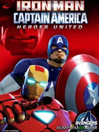 Người sắt và Đội trưởng Mỹ: Liên minh anh hùng Full HD HD Vietsub