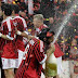 Milan celebrate league title with win