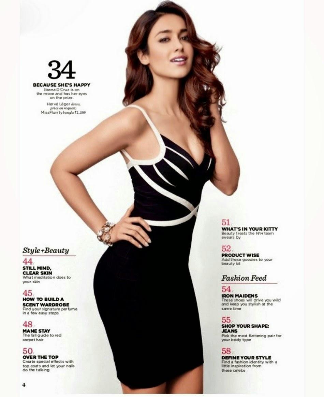 Women S Health: Ileana D'Cruz Hot Photoshoot For Women's Health