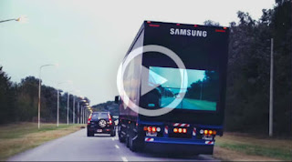 VIDEO: Samsung Reveals Smart Transparent Truck to promote road safety