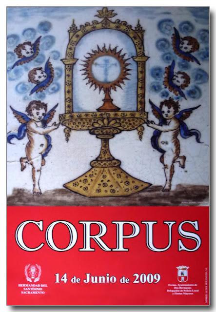 cartel anunciador del Corpus de 2009