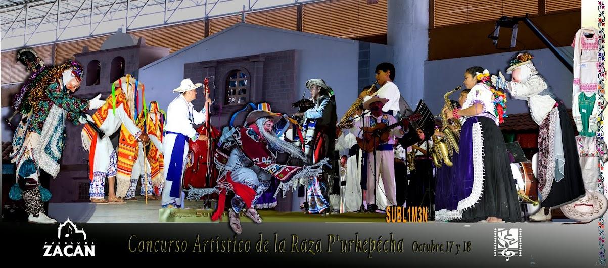 Concurso Artístico del Pueblo P'urhépecha.