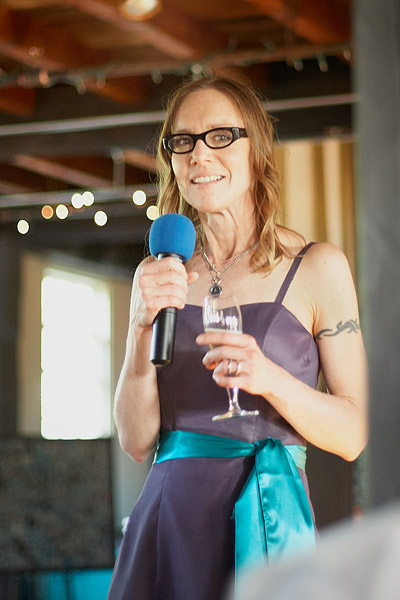 slater mill: wedding reception toast
