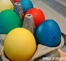 Coloring Eggs Without a Kit