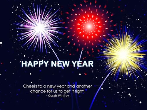 Beautiful Happy New Year Sms Cliparts 2015