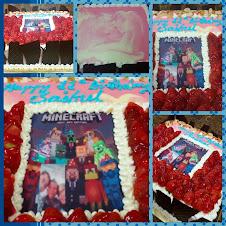 minescraft cake