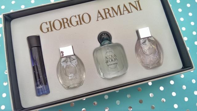 Armani perfume gift set