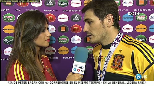 Sara Carbonero & Iker Casillas