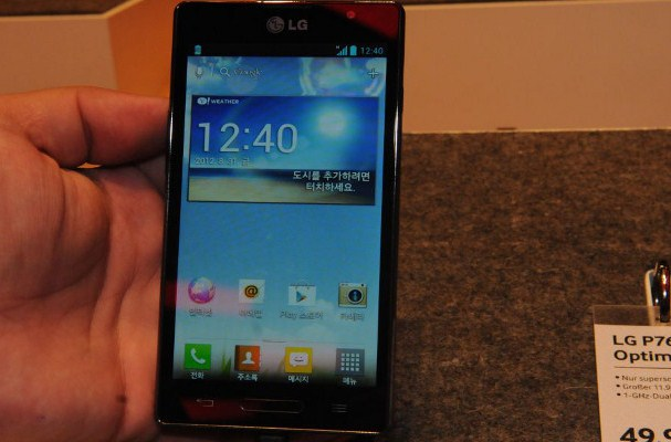 LG Optimus L9 Black specs features hands on P760