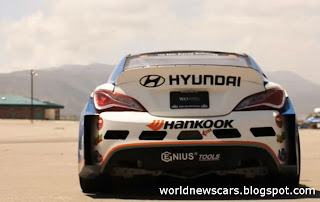 Rhys Millen Details 2013 Hyundai Genesis Drift Car