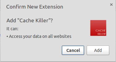 Acelerar el navegador Google Chrome - Cache Killer