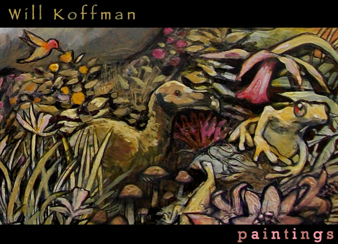 Will Koffman's paintings
