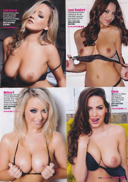 Alice Goodwin, Melissa Debling etc - Topless - Bra Busting Babes - Zoo Magazine