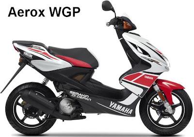 Yamaha Aerox special MotoGP edition