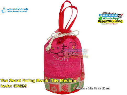 Tas Serut Furing Kombi Tile Medium
